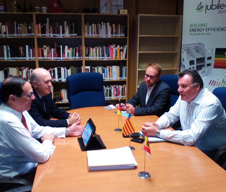El Ministro austriaco de Infraestructuras visita Xabec, centro de referencia en Formación DUAL a nivel internacional