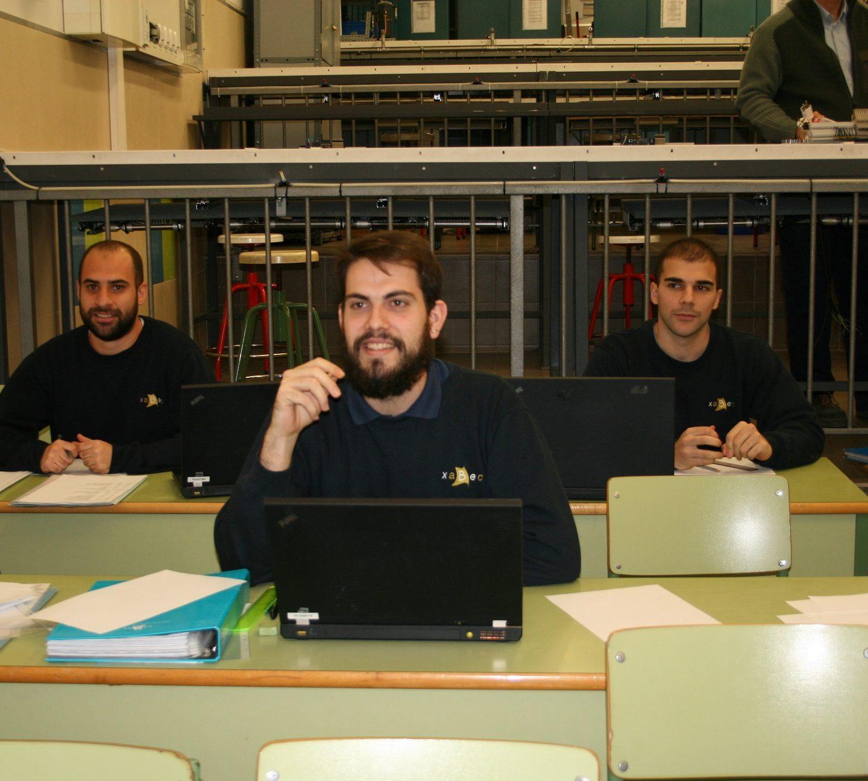 La atención personalizada al alumno define el programa formativo impartido por Xabec