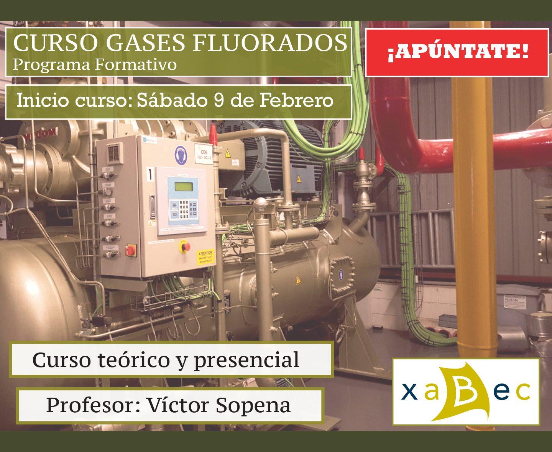 Nuevo curso de Gases Fluorados en Xabec