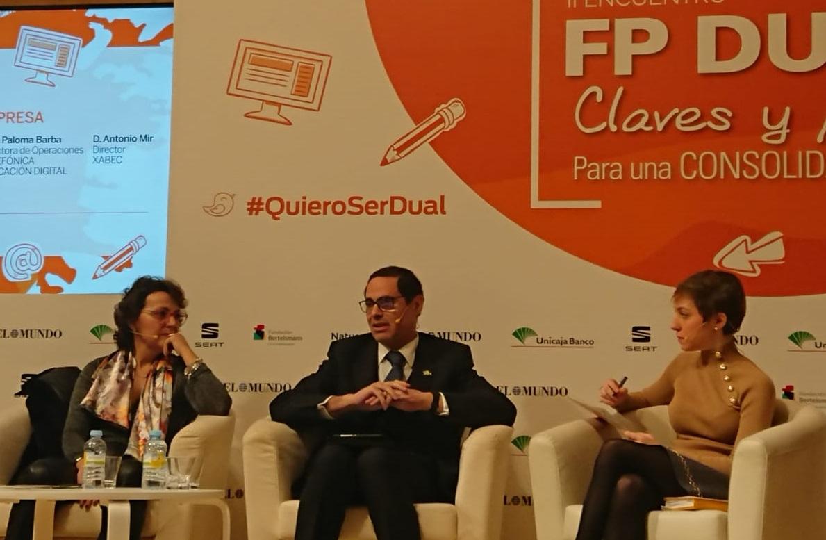 Xabec participa en el II Encuentro de FP DUAL