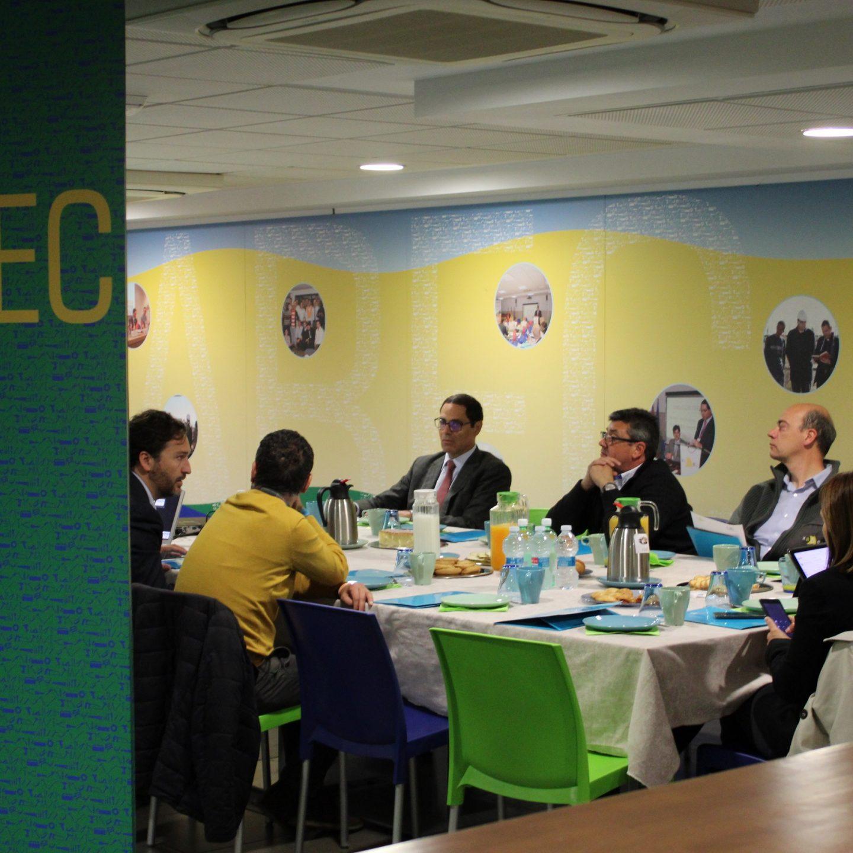 WiTraC protagoniza un nuevo Desayuno Técnico en Xabec dentro del Foro de Desarrollo Profesional