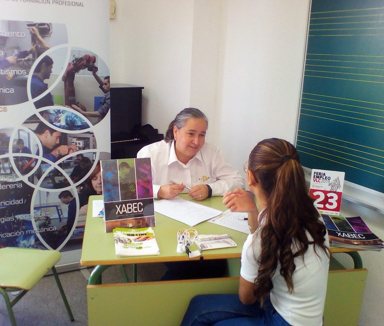Xabec participa activamente en la Feria de Empleo organizada por Cámara Valencia