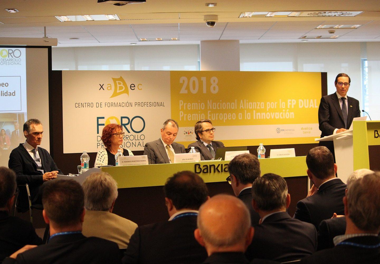 Xabec celebra con las empresas sus premios por la FP Dual y la innovación educativa