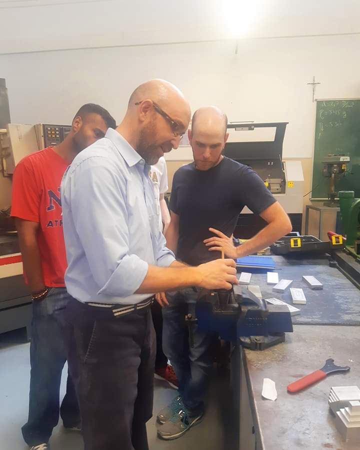 Estudiantes de otros países visitan Xabec durante el verano ampliando su formación en determinadas disciplinas
